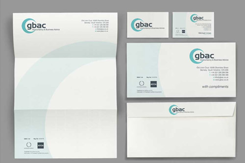 stationery design services letterhead business card design